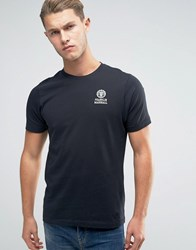Franklin And Marshall Crest Logo T Shirt Black