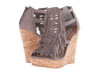 Not Rated Honey Buns Taupe Women's Wedge Shoes