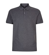 Boss Pima Cotton Polo Top Male Dark Grey