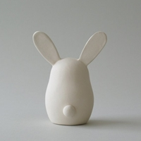 Bunny Art Sculpture 4 Ooak By Artmind On Etsy