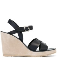A.P.C. 'Juliette' Sandals Blue