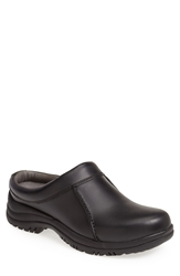 Dansko 'Wil' Slip On Men Black Smooth