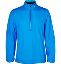 Kjus Golf Dexter Shell Half Zip Jacket Blue