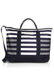 Want Les Essentiels Sangster Tote Navy Stripe