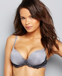 Lily Of France Sensational Lace Push Up Bra 2175220 Tiffany Silver
