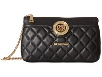 Love Moschino Quilted Evening Bag Black Bags