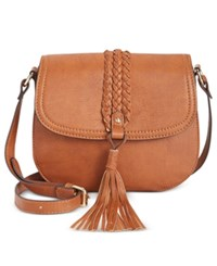 Inc International Concepts Islaa Saddle Bag Only At Macy's Neutral