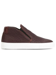 National Standard Textured Slip On Sneakers