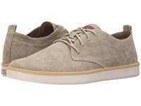 Mark Nason Sycamore Light Brown Canvas Natural Pin White Bottom Men's Lace Up Casual Shoes Beige
