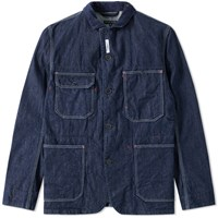 Engineered Garments Coverall Jacket Blue