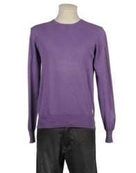 Williams Wilson Crewneck Sweaters Purple