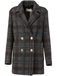Maison Martin Margiela Maison Margiela Checked Peacoat Grey