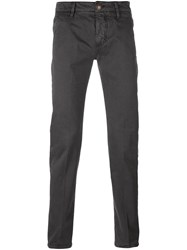 Barba 'Elton' Trousers Grey