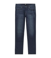 Paige Normandie Straight Jeans Male Blue
