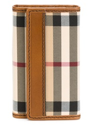 Burberry 'House Check' Key Wallet Nude And Neutrals