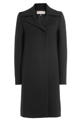 Emilio Pucci Virgin Wool Coat Black