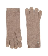 Ugg Luxe Smart Gloves Stormy Grey Heather Extreme Cold Weather Gloves White