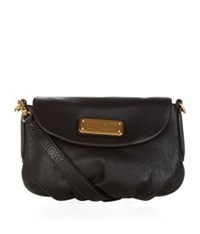 Marc By Marc Jacobs New Q Percy Flap Cross Body Bag Black