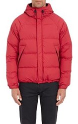 Aspesi Down Quilted Jacket Red