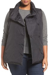 Eileen Fisher Plus Size Women's Weather Resistant Down Vest