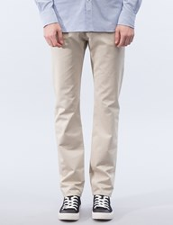 Maison Kitsune Cotton Jay Chino Pants