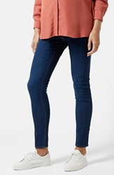 Topshop Moto 'Leigh' Maternity Skinny Jeans Blue Regular And Short