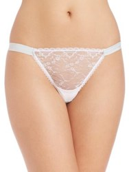 Mimi Holliday I Do Hipster Thong White