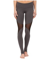Alo Yoga Coast Legggings Stormy Heather Black Women's Casual Pants