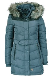 Khujo Lubeck Winter Coat Dove Blue Polyester Blue Grey