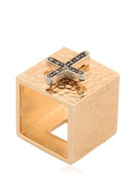 Schield Charms Cross Ring