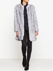 Unreal Fur Wizard Faux Coat Grey