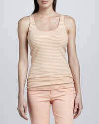 Minnie Rose Rose Gold Striped Layering Tank Women's