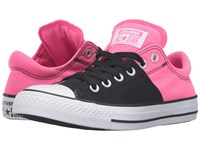 Converse Chuck Taylor All Star Madison Canvas Color Ox Black Neo Pink White Women's Lace Up Casual Shoes