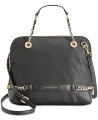 Tommy Hilfiger Cassidy Dome Convertible Satchel Black