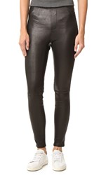 Rag And Bone Sammy Leather Leggings Black
