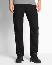 Carhartt Black Wash Aviation Columbia Slim Fit Cargo Trousers