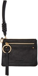 See By Chloe Black Flat Twin Pouch