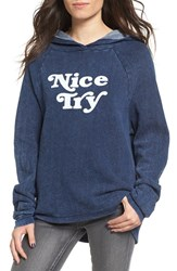 Project Social T Women's Nice Try Graphic Oversize Hoodie
