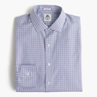 Thomas Mason For J.Crew Ludlow Shirt In End On End Cotton Deep Sea
