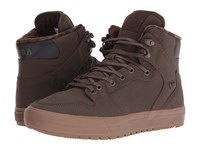 Supra Vaider Winter Demitasse Dark Gum Men's Skate Shoes Brown