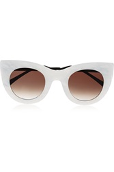 Thierry Lasry Cheeky Cat Eye Acetate Sunglasses