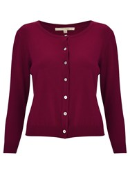 Nougat London Balham Cropped Cardigan Red