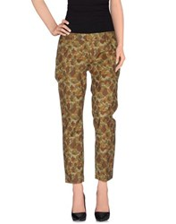Roy Rogers Roy Roger's Trousers Casual Trousers Women Military Green