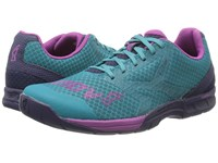 Inov 8 F Lite 250 Teal Navy Purple Women's Running Shoes Blue