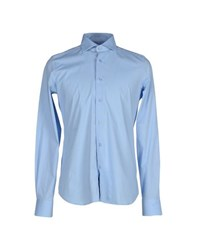 Liu Jo Jeans Shirts Shirts Men Sky Blue