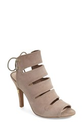 Women's Seychelles 'Play Along' Sandal Taupe Suede Leather