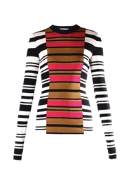Givenchy Contrast Striped Sweater