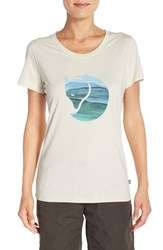 Fjall Raven Women's Fj Llr Ven 'Watercolor Fox' Graphic Tee