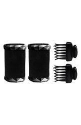 T3 Tourmaline Voluminous Hot Rollers And Clips 1.5 Inch 2 Pack