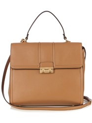 Lanvin Jiji Large Leather Bag Camel